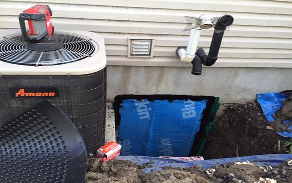 ottawa polyurethane injections exterior foundation repair